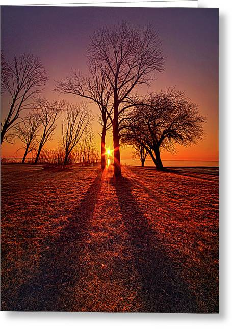 Greeting Card featuring the photograph As Sure As The Sun Will Rise by Phil Koch