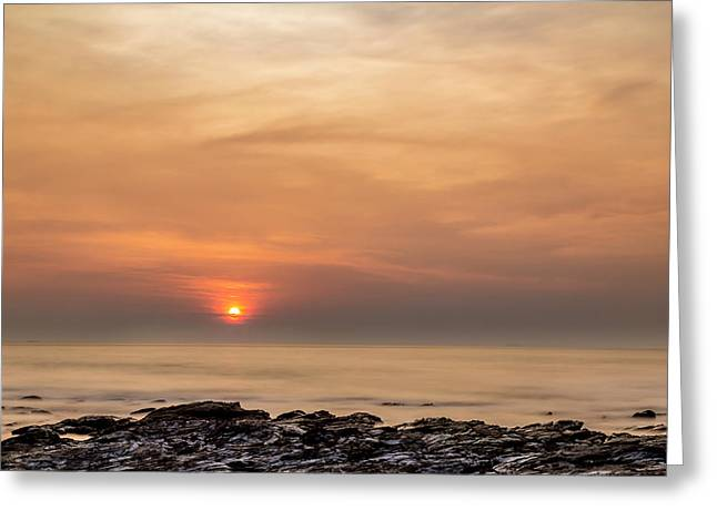 As The Sun Went Down Greeting Card