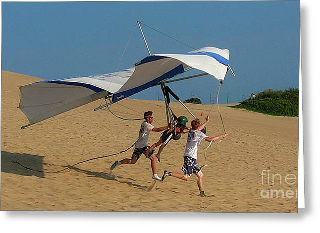 As The Wright Brothers Greeting Card by Christian Hallweger