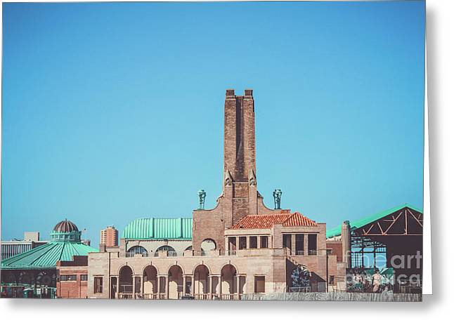 Asbury Park Skyline Greeting Card