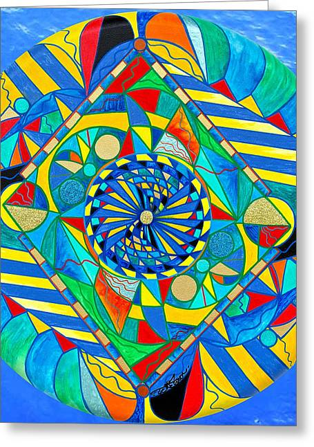 Ascended Reunion Greeting Card