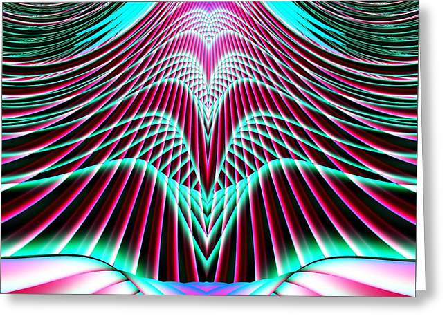 Ascension Into Heaven Greeting Card