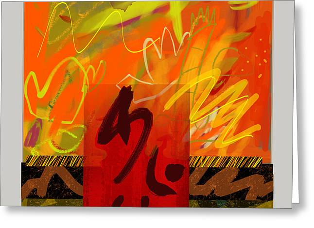 Ascention Greeting Card by Janis Kirstein