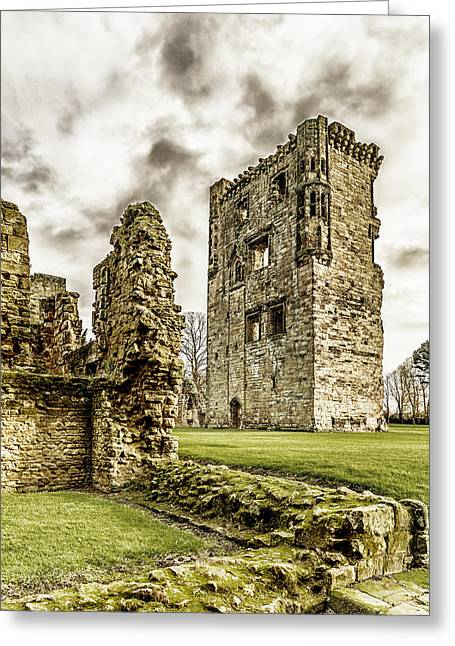 Ashby Castle Greeting Card