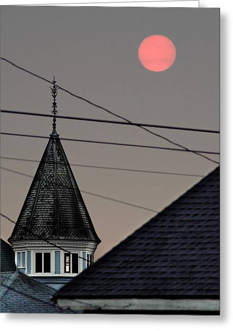 Greeting Card featuring the photograph Ashen Sun by Jon Exley