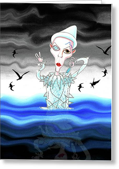 Ashes To Ashes Greeting Card by Andrew Hitchen