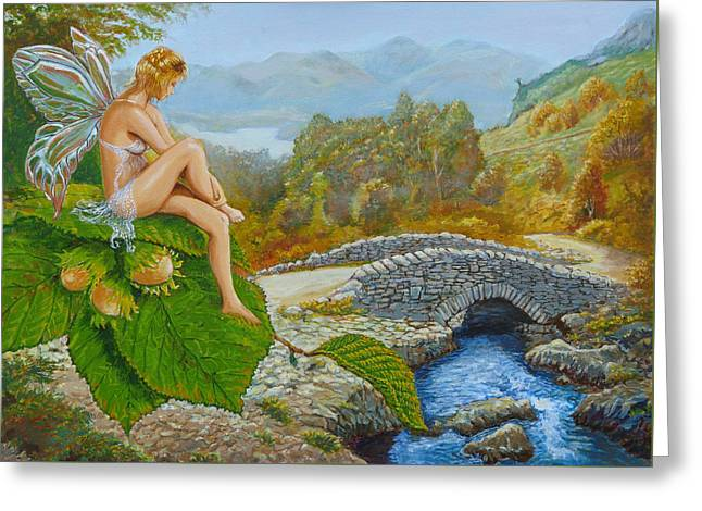 Ashness Faery Greeting Card