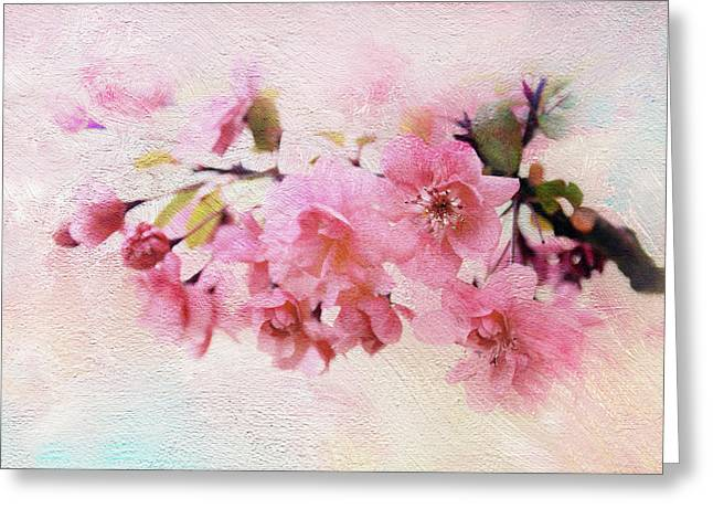 Asian Apple Greeting Card by Jessica Jenney