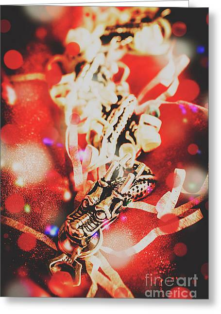 Asian Dragon Festival Greeting Card