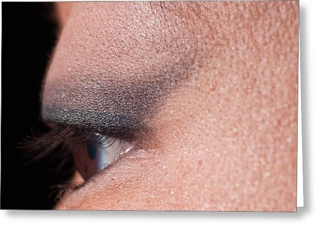 Asian Eye 1283057 Greeting Card