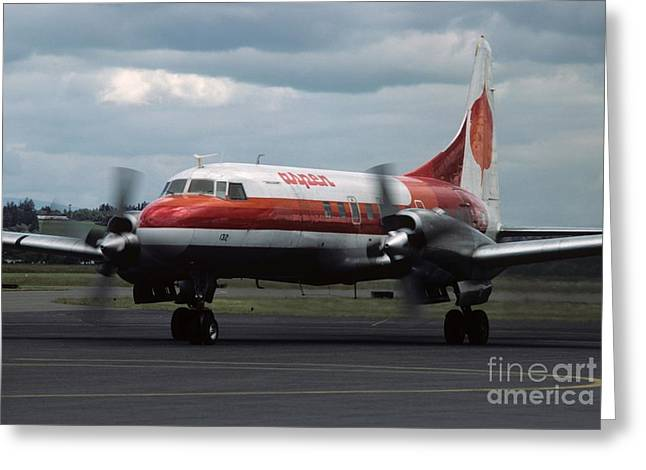 Aspen Convair 580 Greeting Card