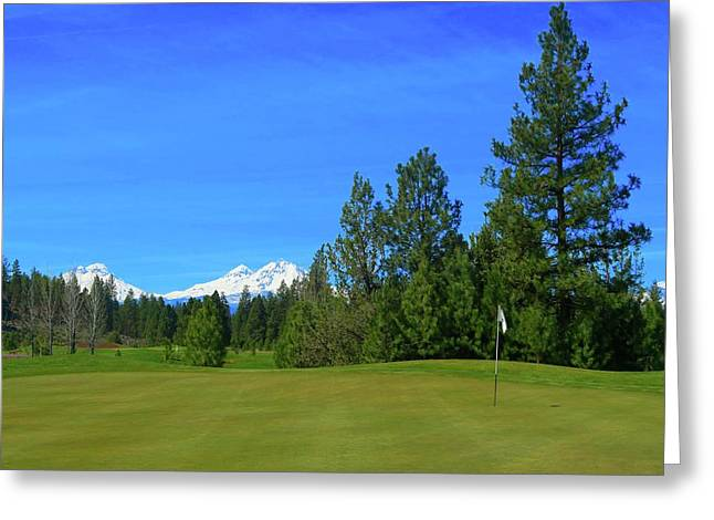 Aspen Lakes Golf Course - Hole #7 Greeting Card