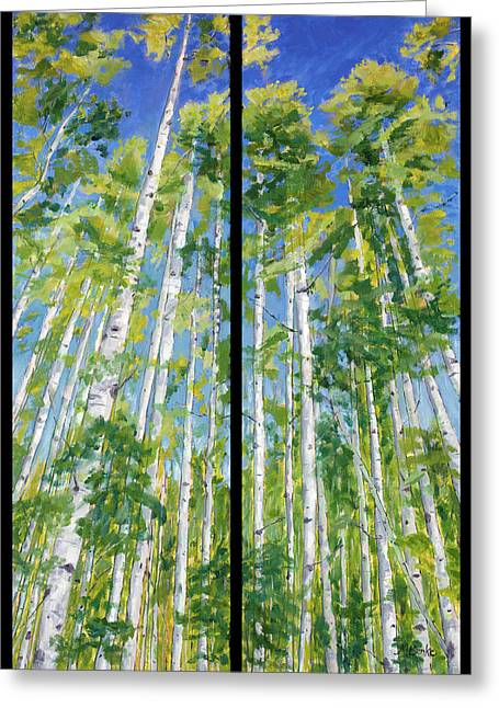 Aspen Twin Perspectives Greeting Card