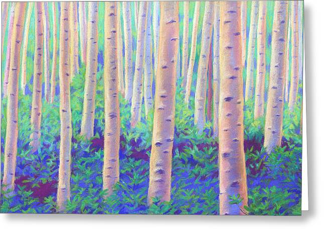 Aspens In Aspen Greeting Card