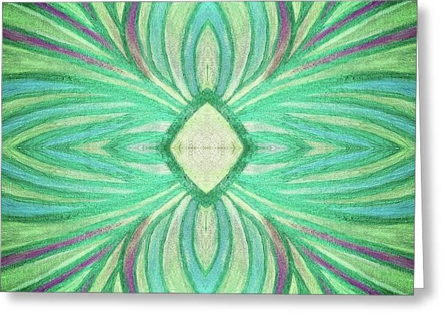 Aspirations Of Harmony Greeting Card by Rachel Hannah