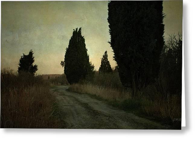 Assonet Landscape I Greeting Card by Dave Gordon