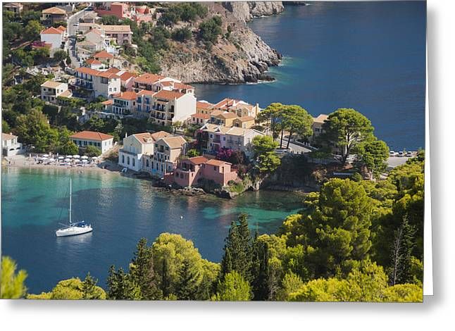 Assos In Greece Greeting Card