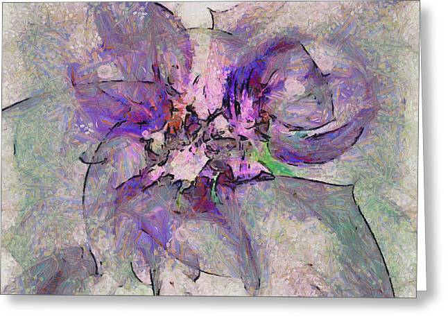 Asswaging Composition  Id 16098-051318-59530 Greeting Card