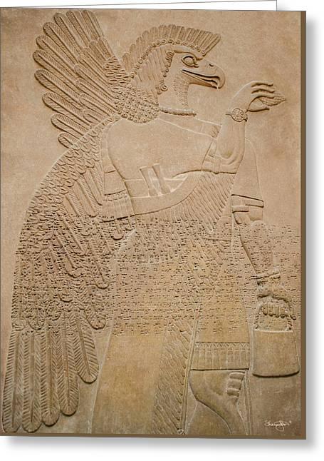 Assyrian Guardian Greeting Card