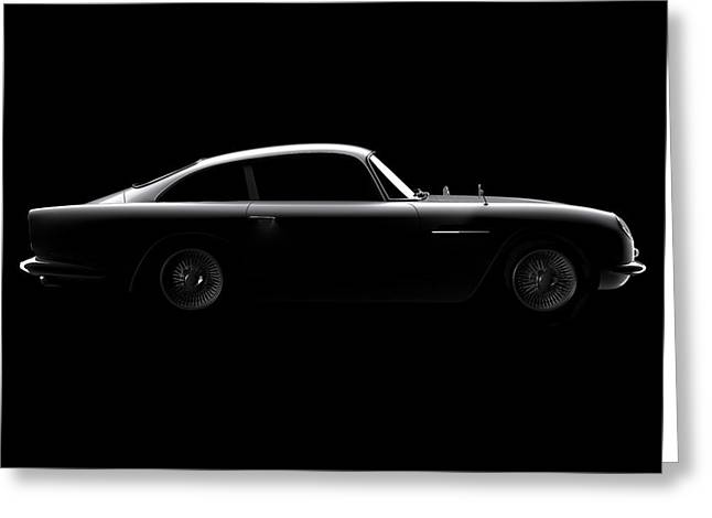 Aston Martin Db5 - Side View Greeting Card