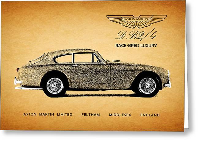 Aston Martin Race-bred Luxury Greeting Card