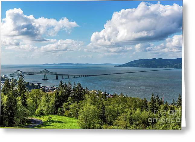 Astoria - Megler Bridge Greeting Card
