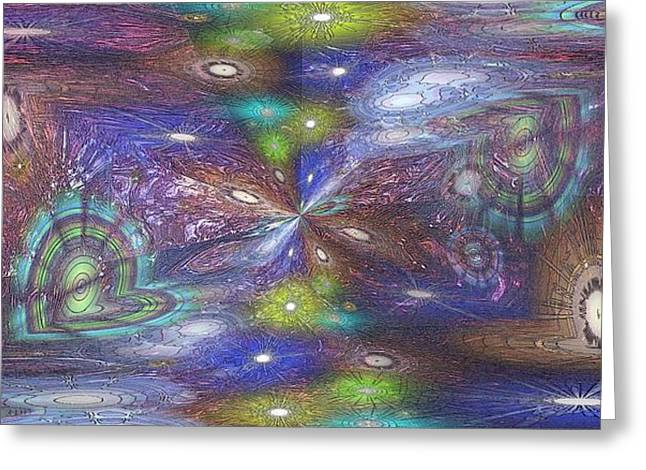 Astral Anomaly Greeting Card by Tim Allen