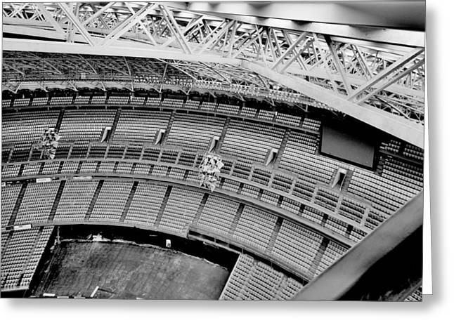 Greeting Card featuring the photograph Astrodome 10 by Benjamin Yeager