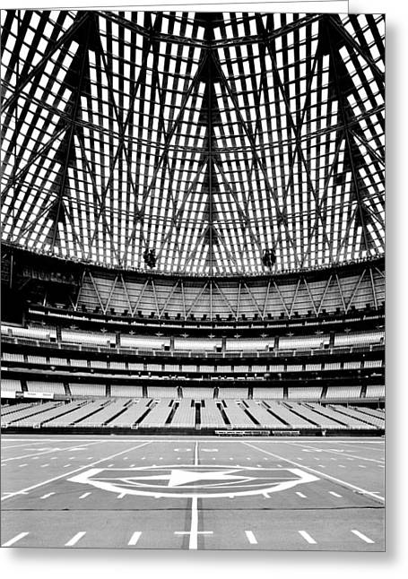 Greeting Card featuring the photograph Astrodome 7 by Benjamin Yeager