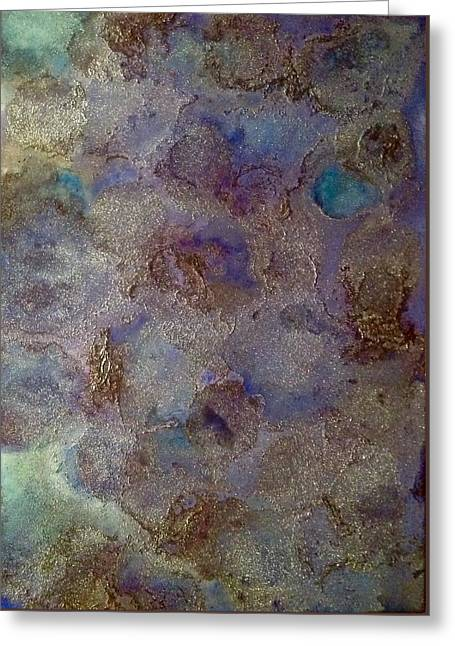 Astroid Greeting Card by Marie Haley-Twaddle