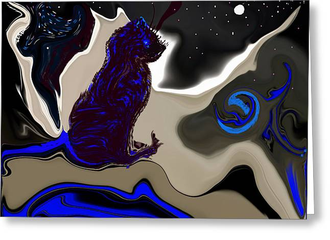 Digital Art Greeting Cards - Astrology Class Greeting Card by Sherri  Of Palm Springs