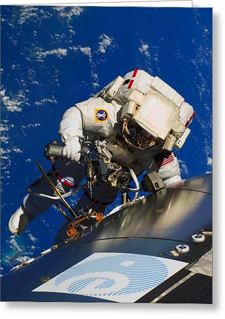 Astronaut Eva-2 Greeting Card