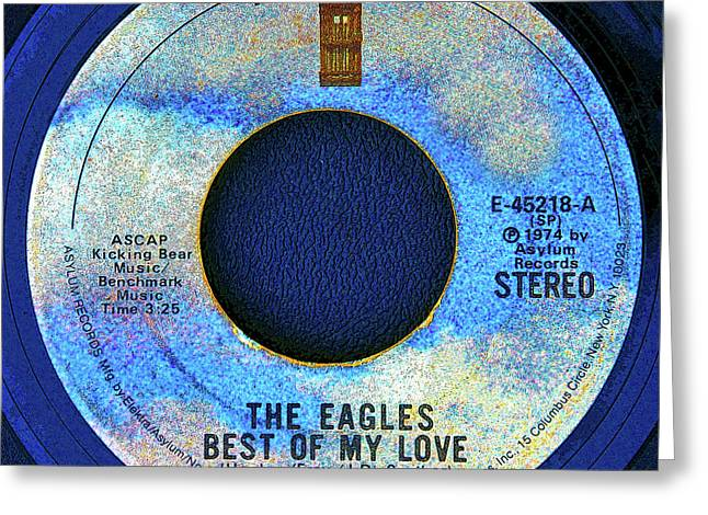 asylum Records and the Eagles Greeting Card