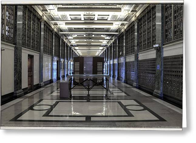 Old post office building greeting cards fine art america at an undisclosed location greeting card m4hsunfo