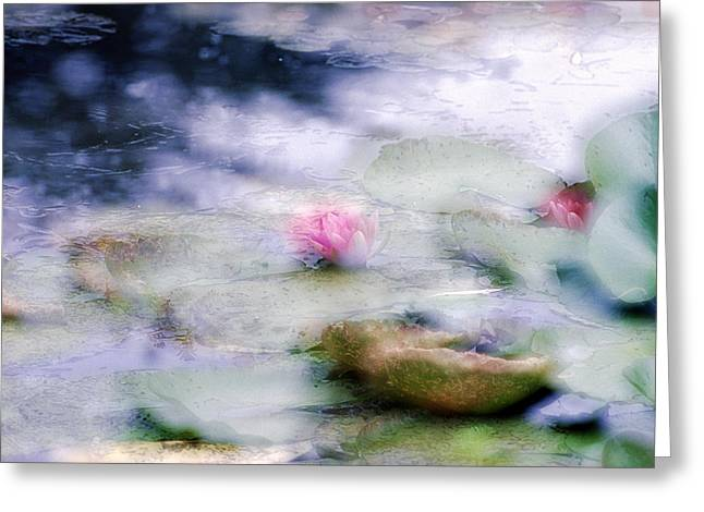 At Claude Monet's Water Garden 12 Greeting Card