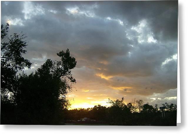 At Daybreak Greeting Card by Skyler Tipton