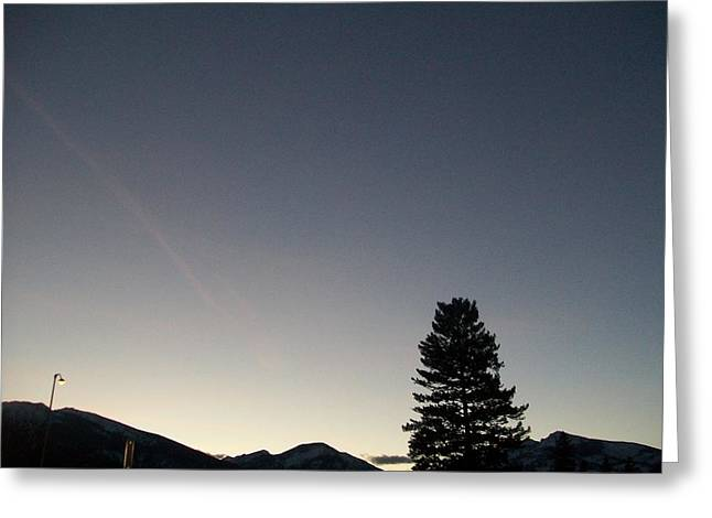 At Dusk Greeting Card by Jewel Hengen