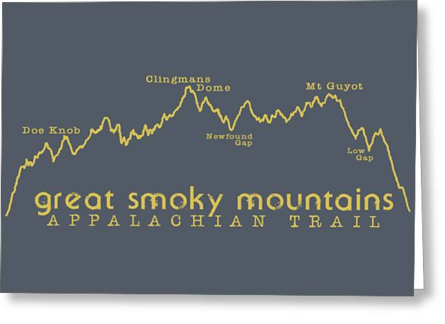 At Elevation Profile Gsm Mustard Greeting Card by Heather Applegate