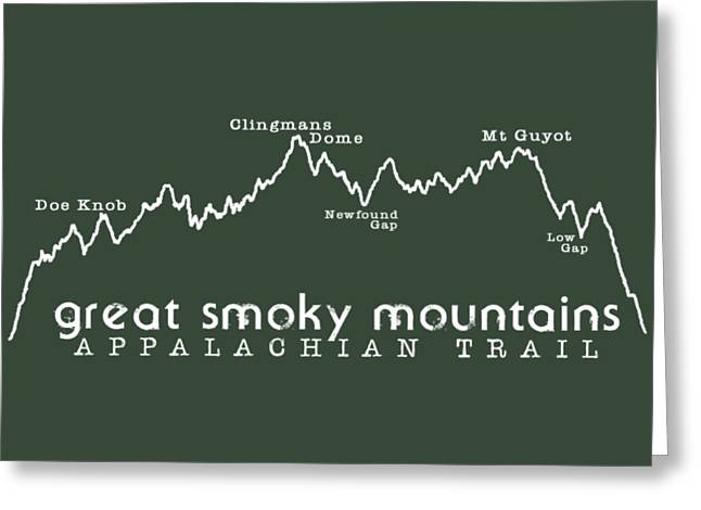 At Elevation Profile Gsm White Greeting Card by Heather Applegate