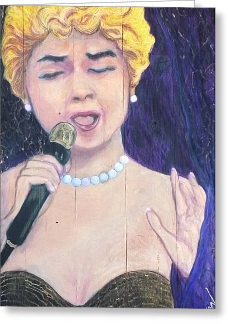 At Last Etta James Greeting Card