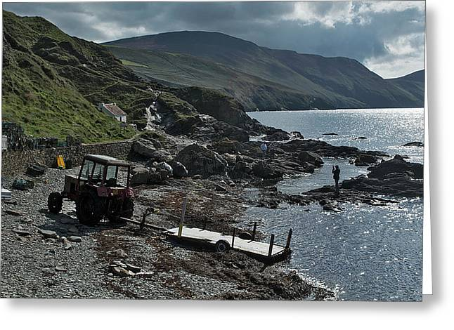 At Niarbyl Point Greeting Card by Steve Watson