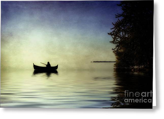 At Peace Greeting Card by Joel Witmeyer