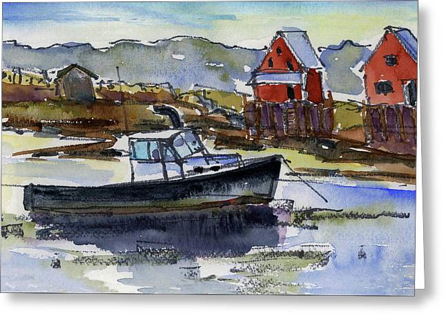At Rest Greeting Card by Mary Byrom