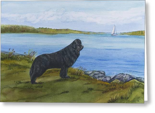 At Seneca Lake Greeting Card