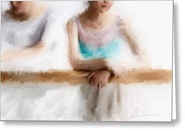At The Barre Greeting Card