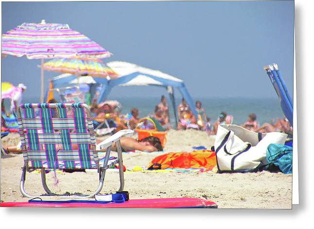 At The Beach Greeting Card by JAMART Photography
