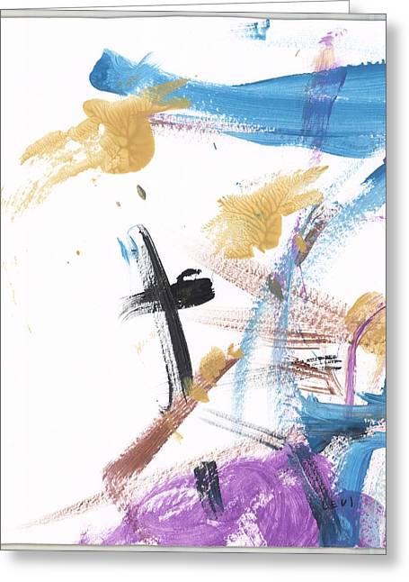 At The Cross Greeting Card