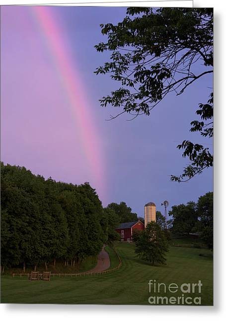 At The End Of The Rainbow Greeting Card