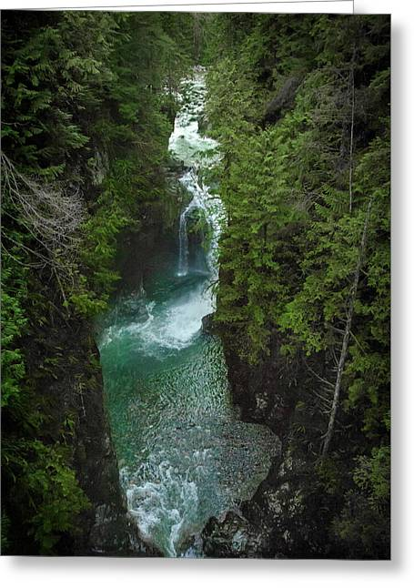 Wonderful Waterfall Greeting Card