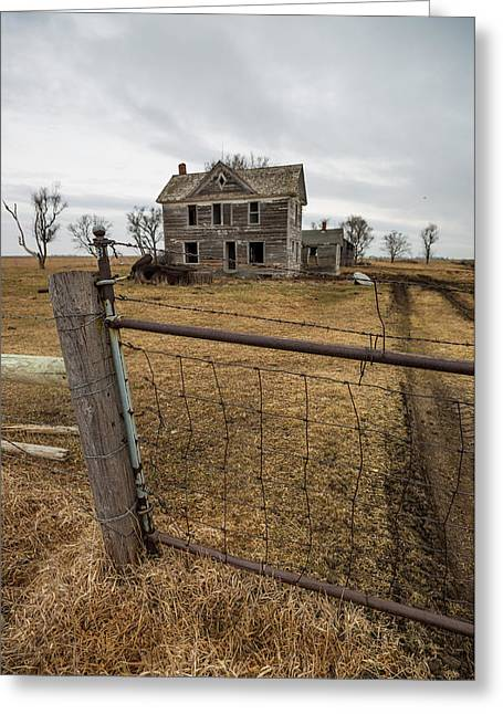 Greeting Card featuring the photograph At The Gate  by Aaron J Groen